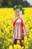 русская женщина стоковое изображение