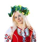 русская женщина Стоковая Фотография