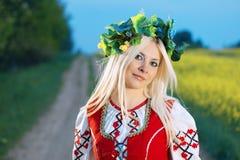 русская женщина стоковое изображение rf