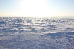 Русская зима - самый строгий на земле Стоковые Изображения RF