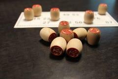 Русская игра Lotto Стоковая Фотография RF