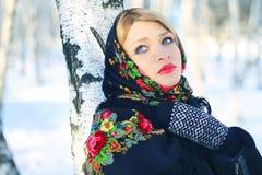 Русская красотка Стоковые Фото