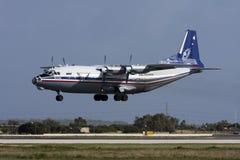 Русская несущая перевозки турбовинтового самолета Стоковое Изображение