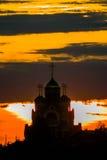 Русская православная церковь в честь St. George в зоне Kaluga (Россия) стоковые изображения rf