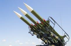 Русская ракетная пусковая установка стоковое изображение
