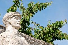 Русская статуя Стоковые Фотографии RF