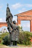 Русская статуя Стоковое Фото