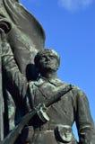 Русская статуя Стоковая Фотография