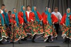 Русская танцулька Стоковая Фотография
