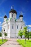 Русская церковь в Pishkin, Ст Петерсбург. стоковые изображения