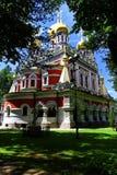 Русская церковь - памятник на Shipka стоковые фотографии rf