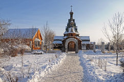 Русская церковь стоковые фотографии rf