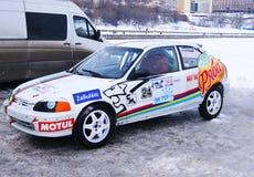 Русская чашка в гонках льда, этапе 2 Стоковые Изображения