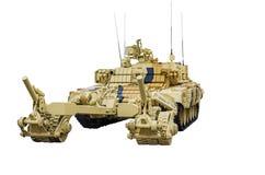 Русская armored машина BMR-3MS разминирования стоковая фотография