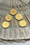 Русские банкноты 50 рублей Стоковое Изображение