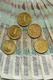 Русские банкноты 50 рублей Стоковые Фотографии RF