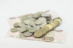 Русские банкноты Стоковое Изображение RF