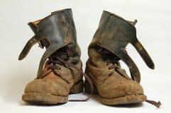 Русские воинские ботинки Стоковое Изображение RF
