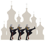 Русские воины Стоковые Фото
