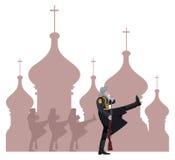 Русские воины Стоковое фото RF
