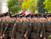 русские воины Стоковые Изображения RF