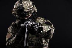 Русские вооруженные силы страны Стоковые Фотографии RF