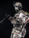 Русские вооруженные силы страны Стоковое фото RF
