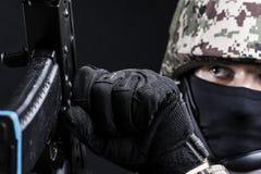 Русские вооруженные силы страны Стоковое Фото