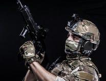 Русские вооруженные силы страны Стоковое Изображение RF
