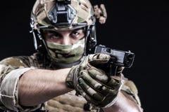 Русские вооруженные силы страны Стоковые Фото
