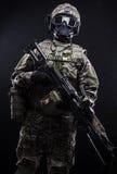 Русские вооруженные силы страны Стоковая Фотография