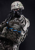 Русские вооруженные силы страны Стоковые Изображения RF