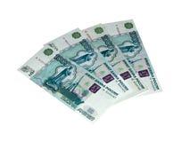 Русские деньги Стоковое Изображение