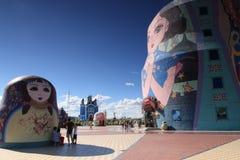Русские куклы вложенности Стоковая Фотография RF