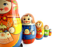 Русские куклы Стоковые Фото