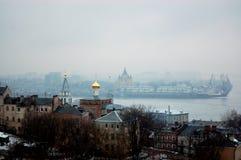 Русские куполы Стоковые Изображения