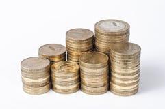 10-русские монетки Стоковая Фотография RF