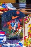 Русские национальные темы в фольклоре Стоковые Фото