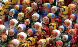русские сувениры традиционные Стоковое фото RF