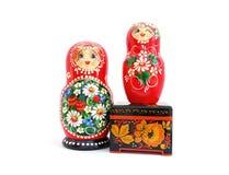 русские сувениры Стоковая Фотография