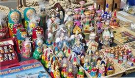 русские сувениры Стоковое Фото