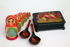 русские сувениры Стоковые Фотографии RF