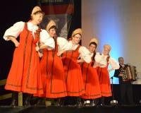Русские танцоры Стоковая Фотография RF