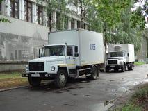 Русские тележки Стоковые Изображения RF
