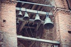 Русские церковные колокола Стоковые Фотографии RF