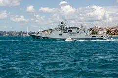Русский адмирал Grigorovich фрегата военно-морского флота Стоковое Изображение