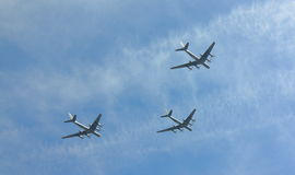 Русский боец войн-самолета Стоковое фото RF
