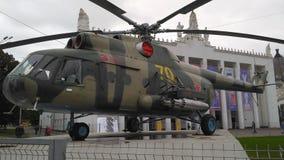 Русский вертолет боя стоковые фотографии rf