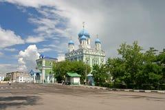русский висок Стоковые Изображения RF