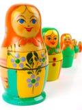русский вложенности куклы Стоковые Фотографии RF